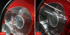 Renowacja kloszy lamp tylnych
